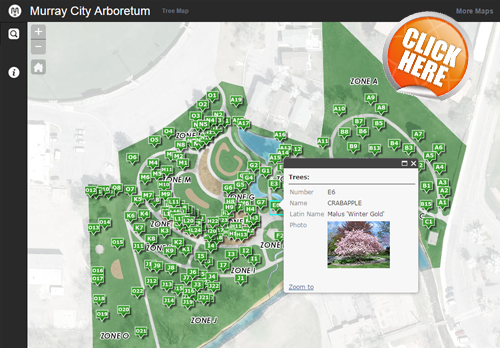 Murray City Arboretum Interactive Map